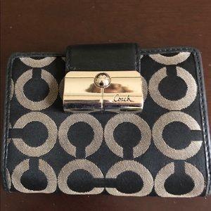 Coach EUC signature wallet